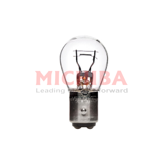 BULB 24V 21/5W BAY 15D CLEAR (DOUBLE)